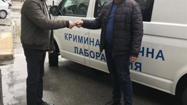 Нова мобилна криминалистическа лаборатория получи ОДМВР - Благоевград