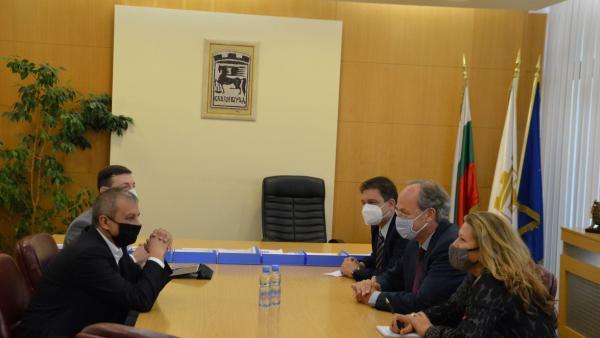 Кметът Илко Стоянов се срещна с посланика на Германия