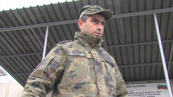 Младши сержант Атанас Секулов спаси живота на млад мъж в Благоевград