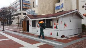 Няма да има  коледни кочинки в Благоевград тази зима