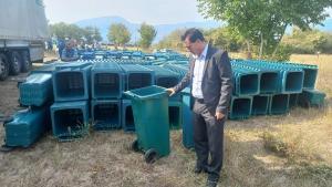 Община Гърмен осигури над 3000 кофи за боклук на жителите на общината