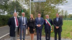Улица  Васил Левски  бе открита в община Болгаре в Северна Италия