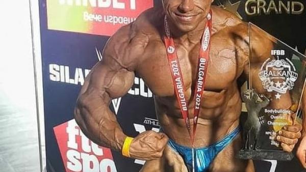 Владимир Димитров стана шампион и абсолютен шампион на Balkan Grand Prix 2021
